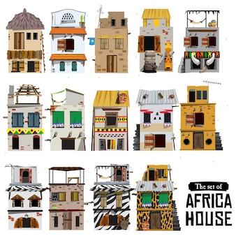 Estilo de casa africana