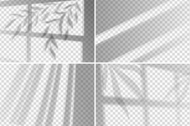 Estilo de efecto de superposición de sombras transparentes