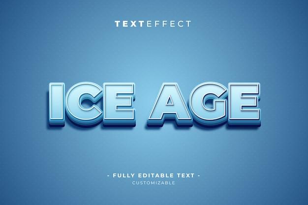 Estilo de efecto de texto de illustrator editable