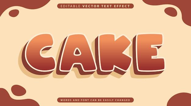 Estilo de efecto de texto totalmente editable