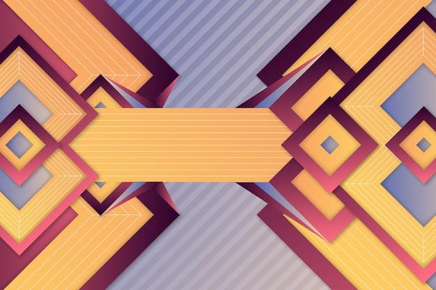 Estilo de fondo geométrico degradado