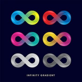 Estilo de gradiente infinito