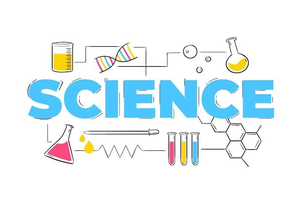 Estilo de la palabra de la ciencia