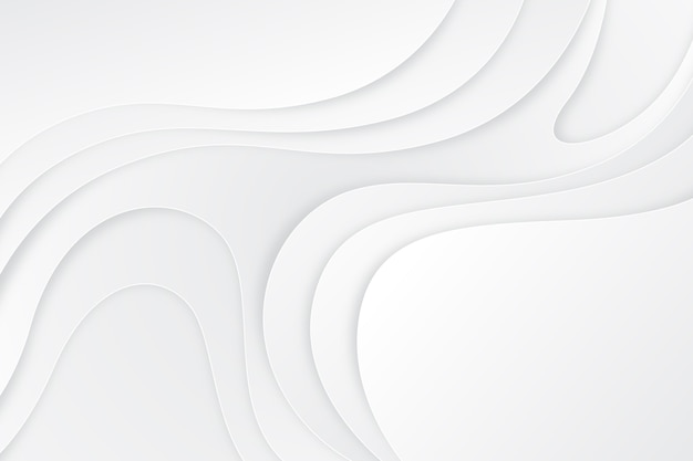 Estilo de papel de fondo abstracto blanco