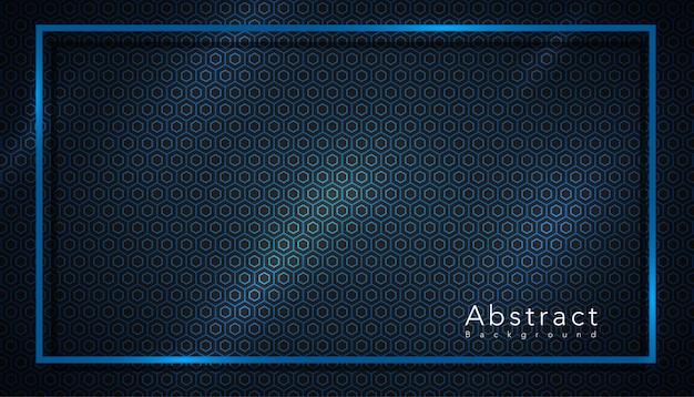 Estilo de patrón con fondo de marco abstracto