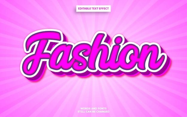 Estilo de texto de moda pink