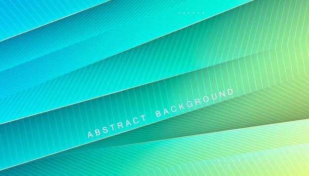 Estiramiento diagonal de fondo abstracto degradado tosca con decoración de línea
