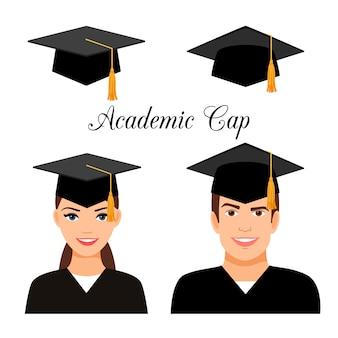 Estudiantes universitarios graduados