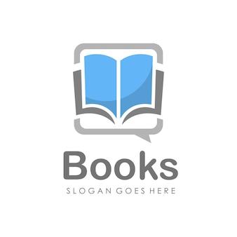 Estudio de educación y logo del libro