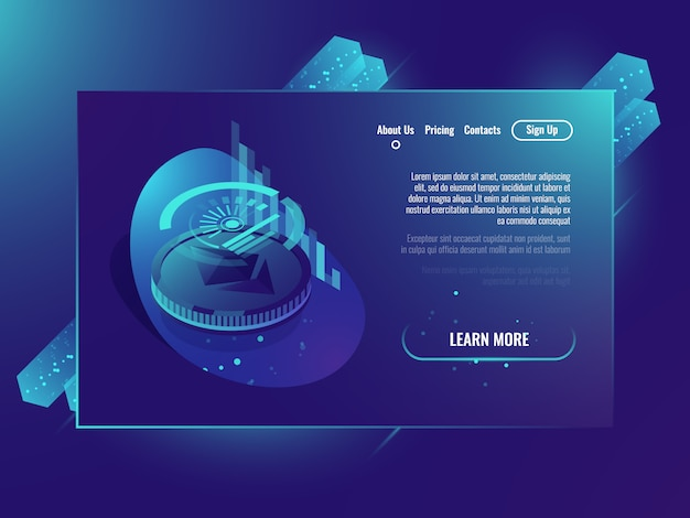 Ethereum crypto currency, análisis y estadística, tecnología blockchain