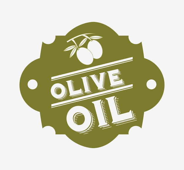 Etiqueta de aceite de oliva
