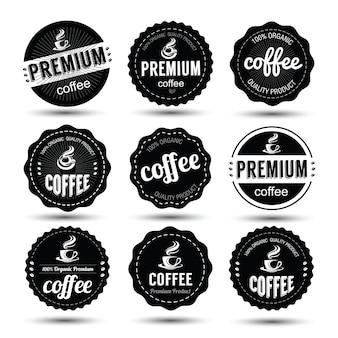 Etiqueta de cafe