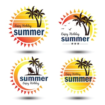 Etiqueta de verano