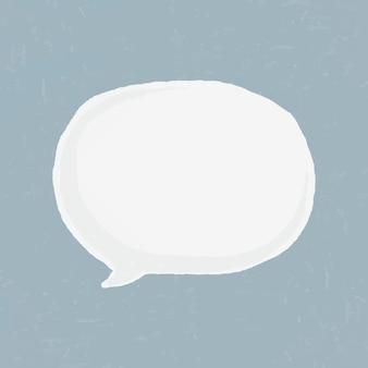 Etiqueta engomada linda del vector del elemento del mensaje dibujado a mano