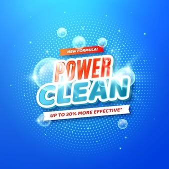 Etiqueta limpiadora viricida y bactericida