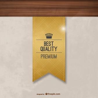 Etiqueta de mejor calidad