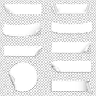 Etiqueta de papel