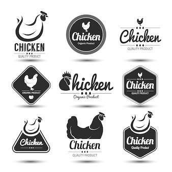 Etiqueta de pollo
