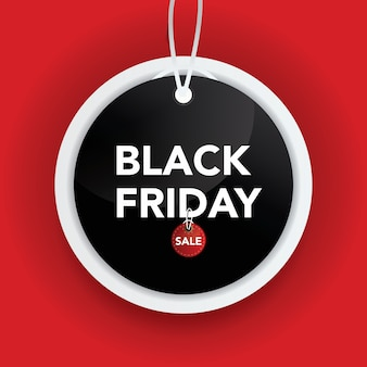 Etiqueta de venta viernes negro