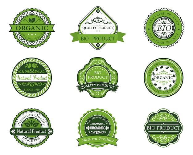 Etiquetas bio y ecológicas