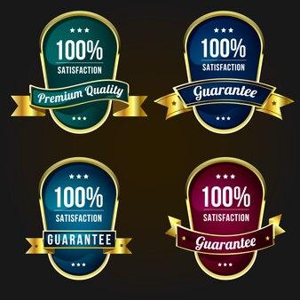 Etiquetas de calidad e insignias