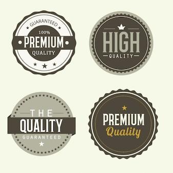 Etiquetas de calidad