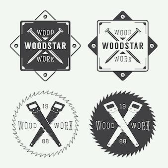 Etiquetas de carpinteria