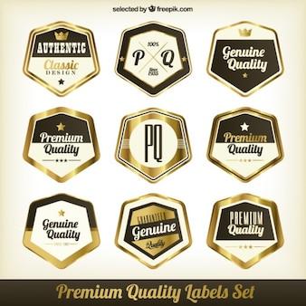 Etiquetas premium