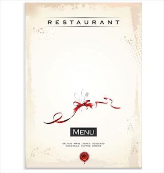 Etiquetas de restaurante y cafetería