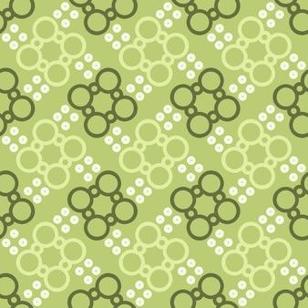 Étnica patrón floral sin fisuras