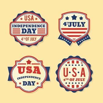 Evento del 4 de julio de estilo vintage