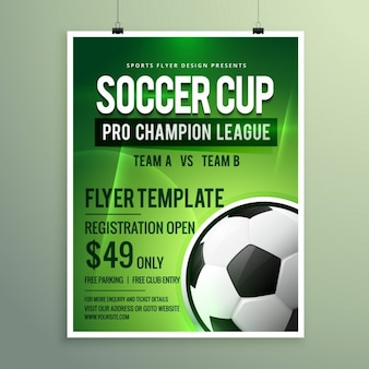 Evento deportivo de la liga de fútbol
