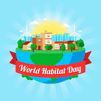 Evento del día mundial del hábitat