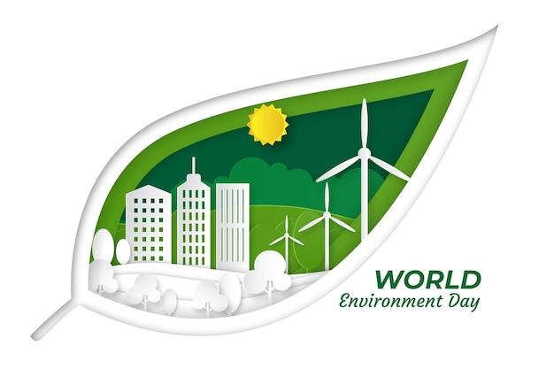 Evento del día mundial del medio ambiente