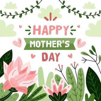 Evento floral del día de la madre