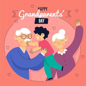 Evento nacional del día de los abuelos