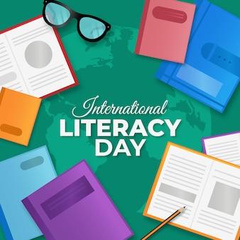 Evento realista del día internacional de la alfabetización