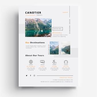 Eventos de la agencia de viajes de viajeros canotier 2020