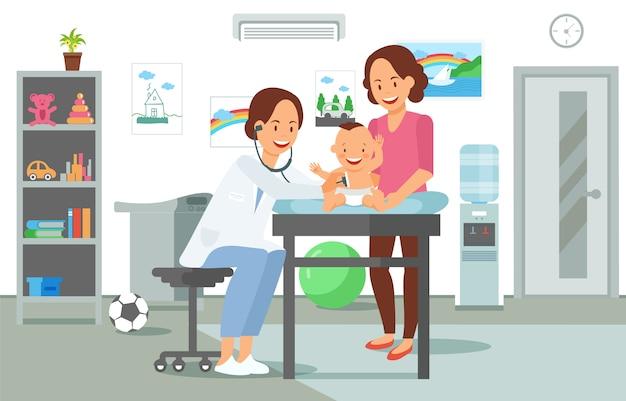 Examen por el pediatra