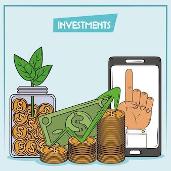 Éxito financiero de la inversión