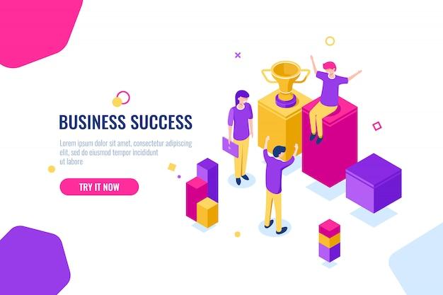 Éxito en el negocio