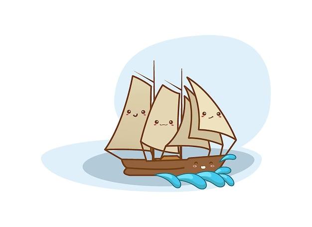 Exploradores de barcos vintage