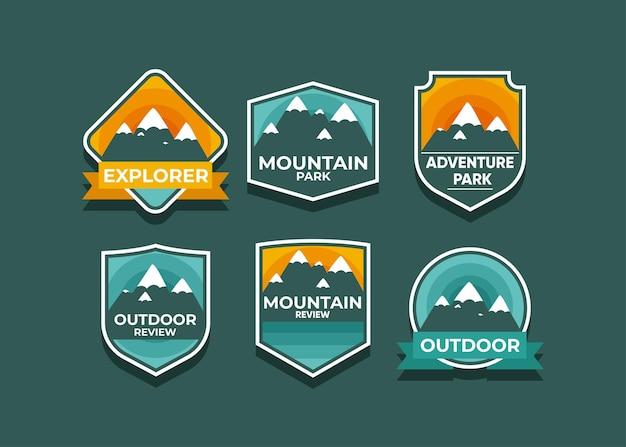 Explore el conjunto de símbolos mountain advanture