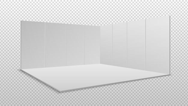 Exposición de pantalla en blanco.