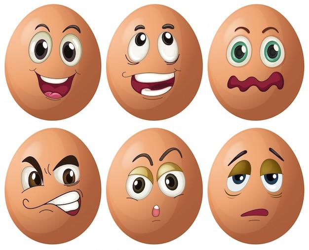 Expresiones de huevo