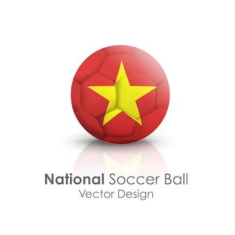 En el extranjero esfera brillante fútbol recreación