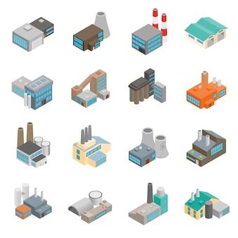 Fábrica de edificios industriales.