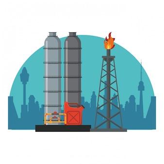 Fábrica de maquinaria petrolera