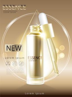 Facial tratamiento esencia cuidado de la piel cosmético