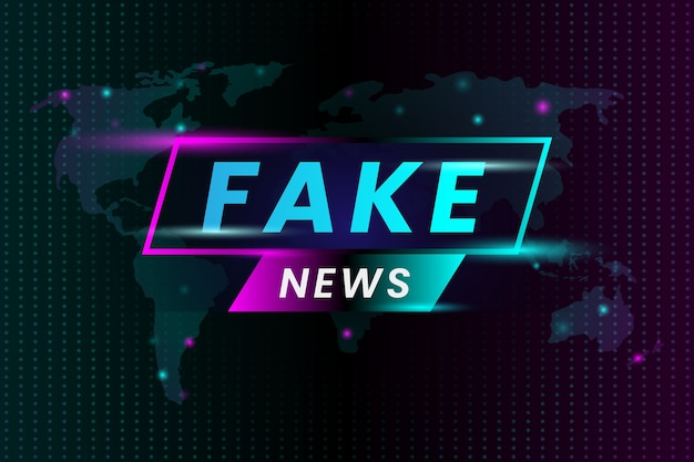 Fake news broadcasting television
